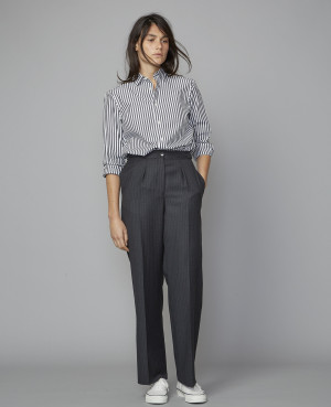 DIANA PTS ITL PIN STRIPES WO | 100% wv